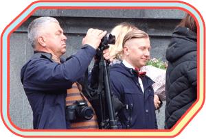 Фото и видео на свадьбу в Житомире в одном лице или деньги на ветер?