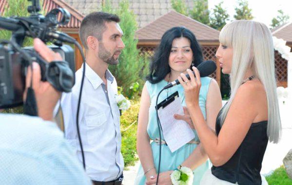 Шуточное интервью на свадьбе