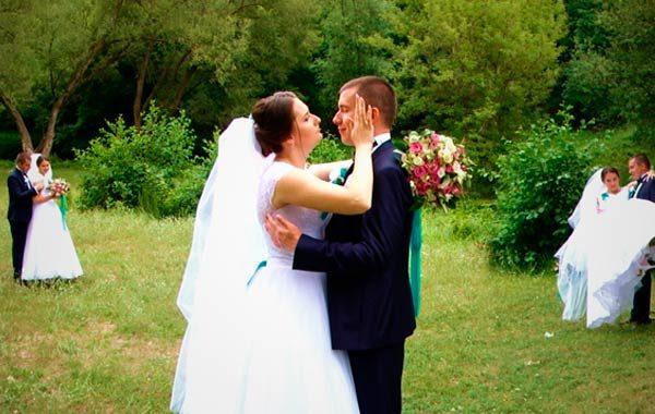 Свадебная панорама (молодожены) в Житомире