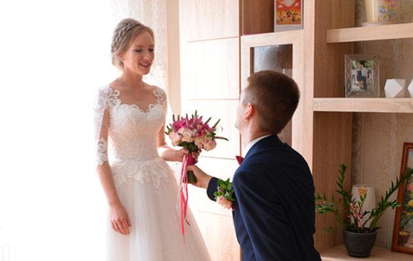 Сборы молодоженов в свадебный день