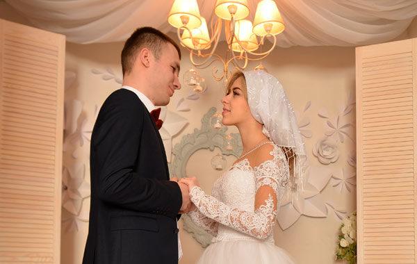 Первая свадебная брачная ночь