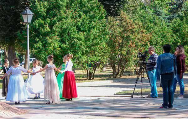 Средневековые танцы в Житомире